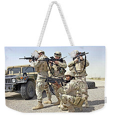 Weekender Tote Bag featuring the photograph Air Force Squadron by Science Source