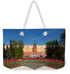 Alexander Garden And Arsenal Walls Weekender Tote Bag by Panoramic Images