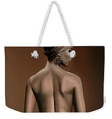 Alicia Keys  Weekender Tote Bag by Paul Meijering