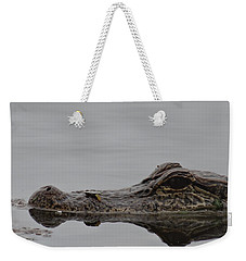 Alligator Eyes Weekender Tote Bag by Dan Sproul
