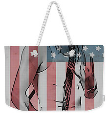 American Badass Weekender Tote Bag by Dan Sproul