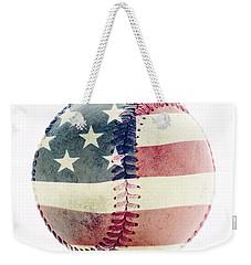 American Baseball Weekender Tote Bag by Terry DeLuco