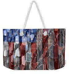 American Sacrifice Weekender Tote Bag by DJ Florek