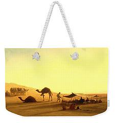 An Arab Encampment  Weekender Tote Bag by Charles Theodore Frere