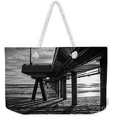 An Evening At Venice Beach Pier Weekender Tote Bag by Ana V Ramirez