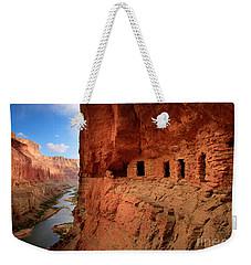 Anasazi Granaries Weekender Tote Bag by Inge Johnsson