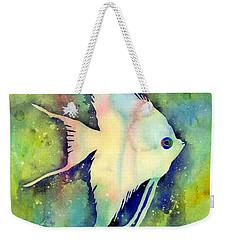 Angelfish I Weekender Tote Bag by Hailey E Herrera