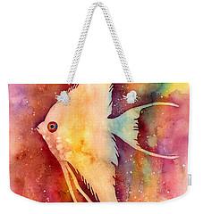 Angelfish II Weekender Tote Bag by Hailey E Herrera