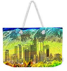 Angeltown Weekender Tote Bag by Daniel Janda