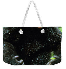 Angry Mountain Gorilla Weekender Tote Bag by Art Wolfe