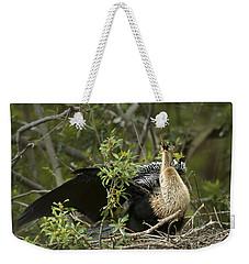 Anhinga Mama Weekender Tote Bag by Phill Doherty