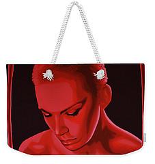 Annie Lennox Weekender Tote Bag by Paul Meijering