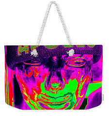 Apollo Abstract Weekender Tote Bag by Ed Weidman