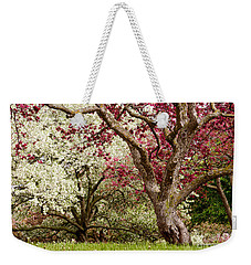 Apple Blossom Colors Weekender Tote Bag by Joe Mamer