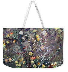 Apple Tree  Weekender Tote Bag by Ylli Haruni