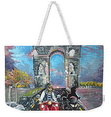 Arc De Triomphe Weekender Tote Bag by Alana Meyers