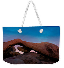 Arch Rock Evening Weekender Tote Bag by Stephen Stookey