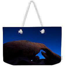 Arch Rock Starry Night Weekender Tote Bag by Stephen Stookey
