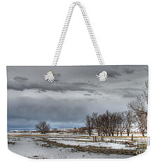 Weekender Tote Bag featuring the photograph Ardmore Prairie by Bill Gabbert
