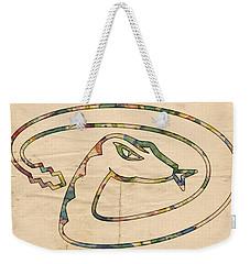 Arizona Diamondbacks Logo Vintage Weekender Tote Bag by Florian Rodarte