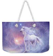 Astral Unicorn Weekender Tote Bag by Steve Read