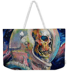 Astronaut Weekender Tote Bag by Michael Creese