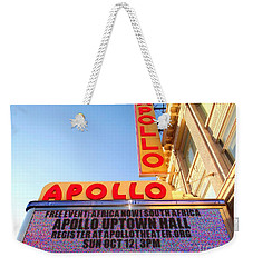 At The Apollo Weekender Tote Bag by Ed Weidman