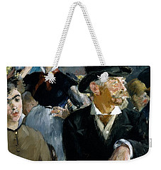 At The Cafe Concert Weekender Tote Bag by Edouard Manet