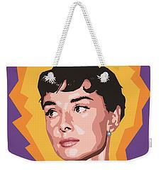 Audrey Weekender Tote Bag by Douglas Simonson