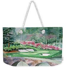 Augusta National 12th Hole Weekender Tote Bag by Deborah Ronglien