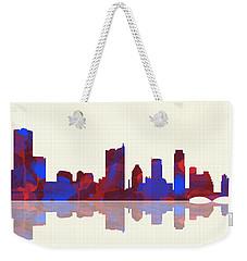 Austin Texas Skyline Weekender Tote Bag by Marlene Watson