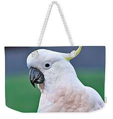Australian Birds - Cockatoo Weekender Tote Bag by Kaye Menner
