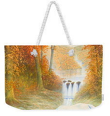 Autumn Morning Weekender Tote Bag by Andrew Farley