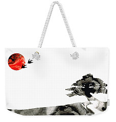 Awakening - Zen Landscape Art Weekender Tote Bag by Sharon Cummings