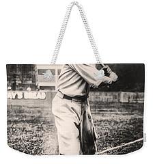 Babe Ruth Weekender Tote Bag by Digital Reproductions