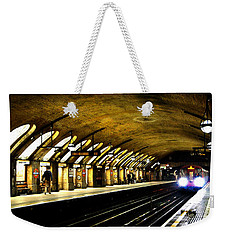 Baker Street London Underground Weekender Tote Bag by Mark Rogan