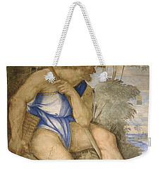Baldassare Peruzzi 1481-1536. Italian Architect And Painter. Villa Farnesina. Polyphemus. Rome Weekender Tote Bag by Baldassarre Peruzzi