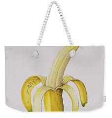 Banana Weekender Tote Bag by Alison Cooper