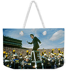 Band Director Weekender Tote Bag by James L. Amos