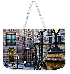 Bank Station In London Weekender Tote Bag by Elena Elisseeva