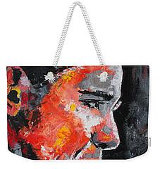 Barack Obama Weekender Tote Bag by Richard Day
