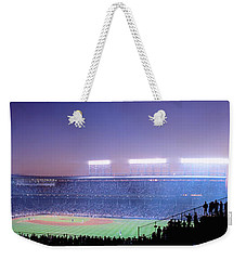 Baseball, Cubs, Chicago, Illinois, Usa Weekender Tote Bag by Panoramic Images