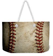 Baseball Seams Weekender Tote Bag by David Patterson