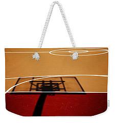 Basketball Shadows Weekender Tote Bag by Karol Livote