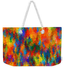 Be Bold Weekender Tote Bag by Lourry Legarde