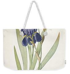 Bearded Iris Weekender Tote Bag by Pierre Joseph Redoute