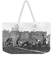 Bears Are 1933 Nfl Champions Weekender Tote Bag by Underwood Archives