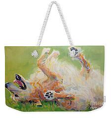 Bears Backscratch Weekender Tote Bag by Kimberly Santini
