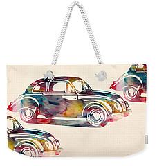 Beetle Car Weekender Tote Bag by Mark Ashkenazi