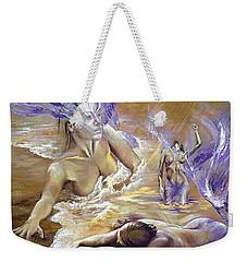 Belonging Weekender Tote Bag by Karina Llergo